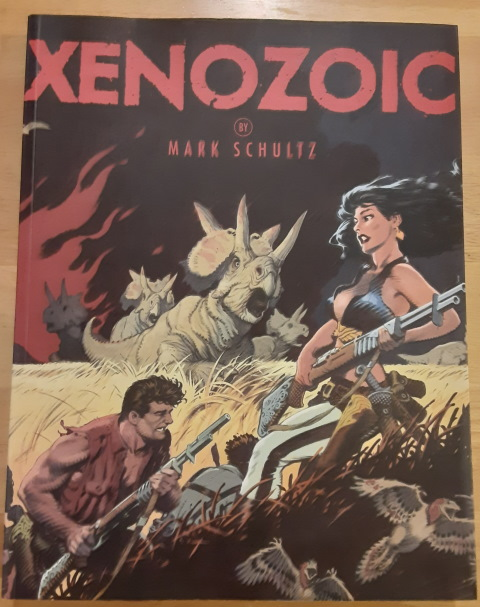book cover for Xenozoic